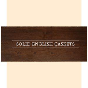 English Caskets